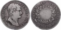 France 5 Francs Napoléon, Premier Consul - An 12 M Toulouse