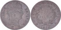 France 5 Francs Napoléon Empereur  - 1810 A Paris - TB+