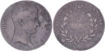 France 5 Francs Napoléon Empereur  - An 13 A Paris - PTB