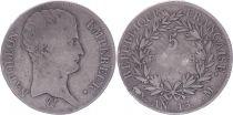 France 5 Francs Napoléon Empereur  - An 13 A Toulouse - Argent - TB