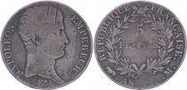 France 5 Francs Napoléon Empereur  - An 13 A Toulouse - PTB
