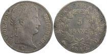 France 5 Francs Napoléon Empereur - 1812 Q