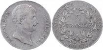 France 5 Francs Napoléon Empereur - Reverse Rép. Française - An 12 A