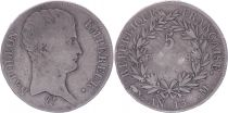 France 5 Francs Napoleon Emperor - Year 13 M Toulouse  - Silver - Fine