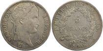 France 5 Francs Napoléon I - 1810 A - 2em ex