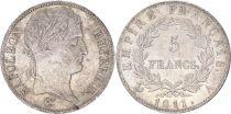 France 5 Francs Napoléon I - 1811 A