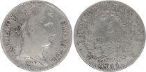 France 5 Francs Napoléon I - 1811 W Lille - Argent