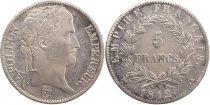 France 5 Francs Napoléon I - 1812 A