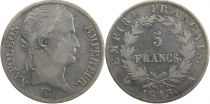 France 5 Francs Napoléon I - 1813 A