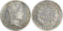 France 5 Francs Napoléon I - 1814 M