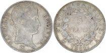 France 5 Francs Napoleon I Empereur - 1808 to 1814