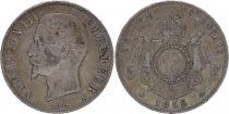 France 5 Francs Napoleon III -  1856 A Paris - Silver
