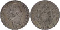France 5 Francs Napoléon III - Tête nue - 1856 A Paris - Argent