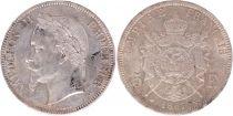 France 5 Francs Napoléon III 1867 A Paris SUP