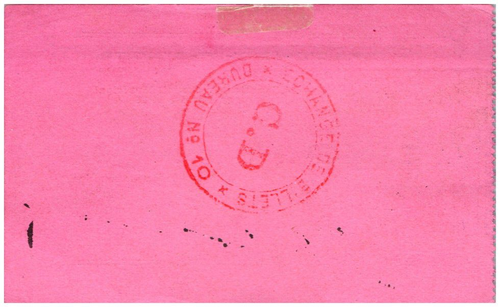 France 5 Francs Origny-Sainte-Benoite City - 1915