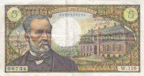 France 5 Francs Pasteur - 08-01-1970 Série W.116 - joli TTB