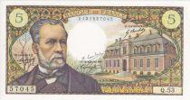 France 5 Francs Pasteur - 1966 Signed by Pierrette Lambert