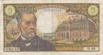 France 5 Francs Pasteur - années 1966 à 1970