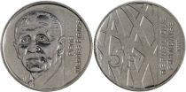 France 5 Francs Pierre Mendes France - 1992