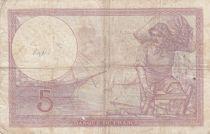 France 5 Francs Purple - 27-07-1939 -Série T.59141