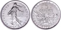 France 5 Francs Semeuse  - 1973 - FDC - Issu de coffret