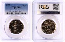 France 5 Francs Semeuse  - 1973 - PCGS MS 67