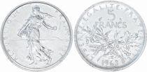 France 5 Francs Semeuse - 1963