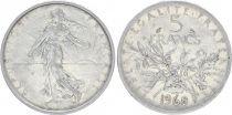 France 5 Francs Semeuse - 1968