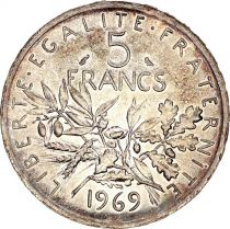 France 5 Francs Semeuse - 1969