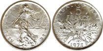 France 5 Francs Semeuse - 1975 - FDC - Issu de coffret