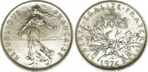France 5 Francs Semeuse - 1976 - FDC - Issu de coffret