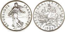 France 5 Francs Semeuse - 1983 - FDC - Issu de coffret