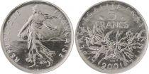 France 5 Francs Semeuse - 2001 BU