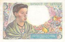France 5 Francs Sheperd - 23-12-1943 Serial B.112 - AU