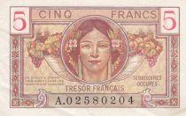 France 5 Francs Trésor Francais -  1947 - A 02580204