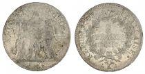 France 5 Francs Union et Force - An 10 K Bordeaux