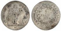 France 5 Francs Union et Force - An 5 K