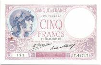 France 5 Francs Violet - 1930