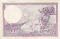 France 5 Francs Violet 19-02-1918 Série p.872 - TTB