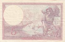 France 5 Francs Violet 30-08-1928 Série B.36171 - TTB