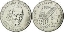 France 5 Francs Voltaire - 1994 - ESSAI - AU - KM.1063