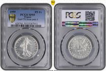 France 5 Francs Woman sowing seed - 1959 ESSAI  Silver - PCGS AU 55