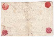 France 5 Livres - Timbre sec portrait de Louis XVI (01-11-1791) - TTB