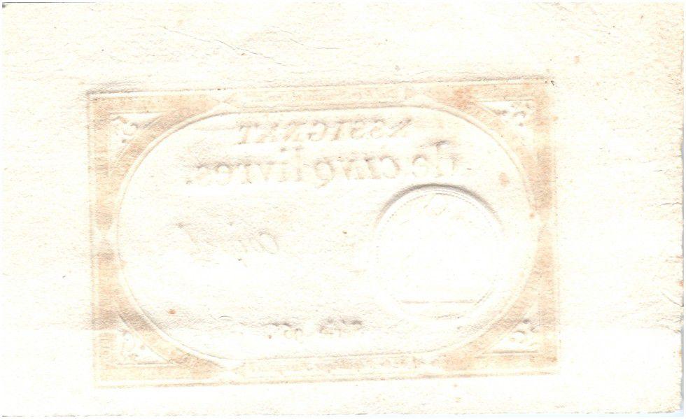 France 5 Livres 10 Brumaire An II (1793-10-31) - Sign. Coipel