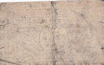 France 5 Livres Timbre sec Louis XVI - 01-11-1791 - Série 60 B - TB