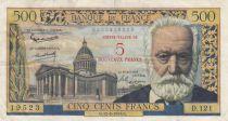France 5 NF sur 500 Francs sur 500 Francs, Victor Hugo - D.121 - 1959