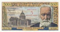 France 5 NF sur 500 Francs Victor Hugo -  12-02-1959 - Q.120