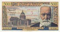 France 5 NF sur 500 Francs Victor Hugo -  12-02-1959 - U.118