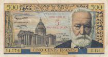 France 5 NF sur 500 Francs Victor Hugo - 1959 Serial E.121