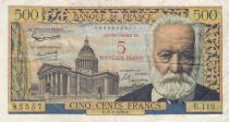 France 5 NF sur 500 Francs Victor Hugo - 1959 Serial R.119